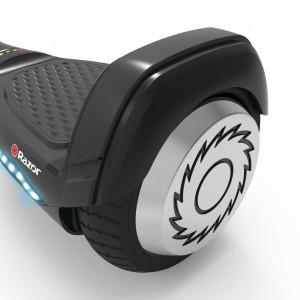 wheels of the Razor hoverboard